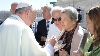 """La mujer que compartió el """"servicio entre rejas"""" con Jorge Bergoglio"""