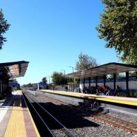 Habilitación de la renovada estación Villa de Mayo