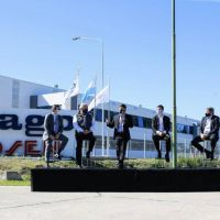Kicillof encabezó la habilitación del Parque Industrial de Ezeiza
