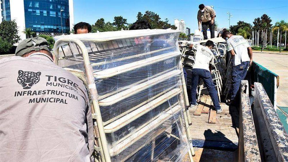 Más de cien instituciones educativas de Tigre se beneficiarán con nuevo mobiliario