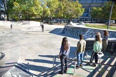 Mayra inauguró el Skatepark municipal del Parque de la Ciudad en Quilmes Oeste