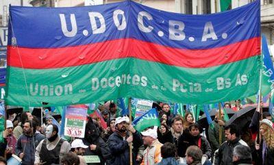 UDOCBA anunció una medida de fuerza para el miércoles 14 de abril y exigió la suspensión de las clases presenciales en la Provincia de Buenos Aires