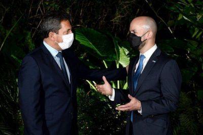Asado informal de Massa con el enviado de Biden: vacunas, negociación con el FMI y la influencia de China