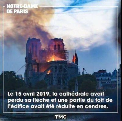 En un día se cumplen dos años del incendio en Notre-Dame: documental conmemora la fecha