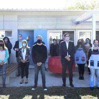Hurlingham: Zabaleta y Trotta inauguraron un Jardín de Infantes