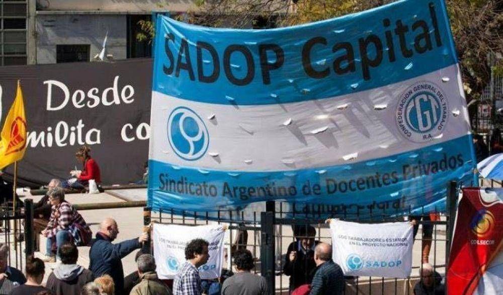 SADOP exige al gobierno porteño volver a la virtualidad por el aumento de casos de Covid
