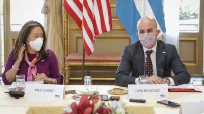 """El enviado de Joe Biden a la Argentina criticó el """"mercantilismo de las vacunas de China y Rusia"""" e hizo un guiño por el FMI"""
