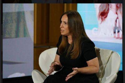 """María Eugenia Vidal: """"No me arrepiento de haber rechazado el plan V"""""""