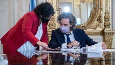 El Presidente se cerró otra vez con Cristina Kirchner y desdibujó a dos ministros: tensión con la Capital y conflicto latente con provincias