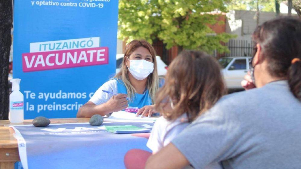 Ituzaingó vacunó a más de 30 mil vecinos contra el Covid