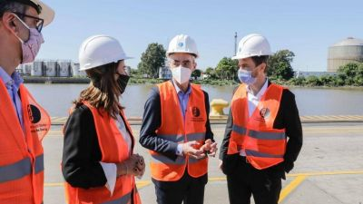 Transporte aportará $200 millones para dragado de puerto público de Dock Sud