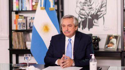 Apoyo sindical a las medidas adoptadas por Alberto Fernández