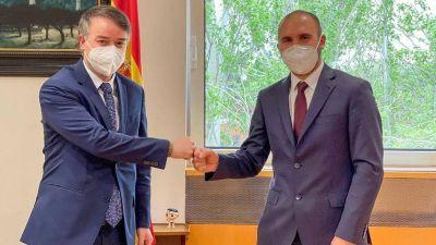 Guzmán avanzó con España en la