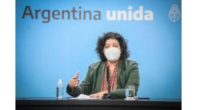Argentina distribuyó el 97% de sus vacunas