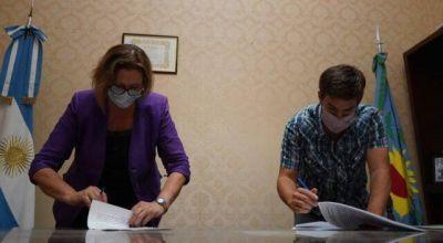 Municipio y CEAMSE firman convenio para cuidado ambiental y tratamiento de residuos