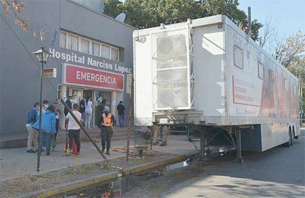 Las Unidades Sanitarias Móviles de ACUMAR siguen reforzando el sistema sanitario de la Cuenca