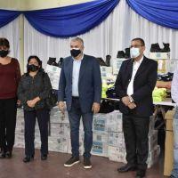 GIRSU: Entrega de indumentaria técnica y EPP, a Libertador General San Martín, Fraile Pintado y Calilegua