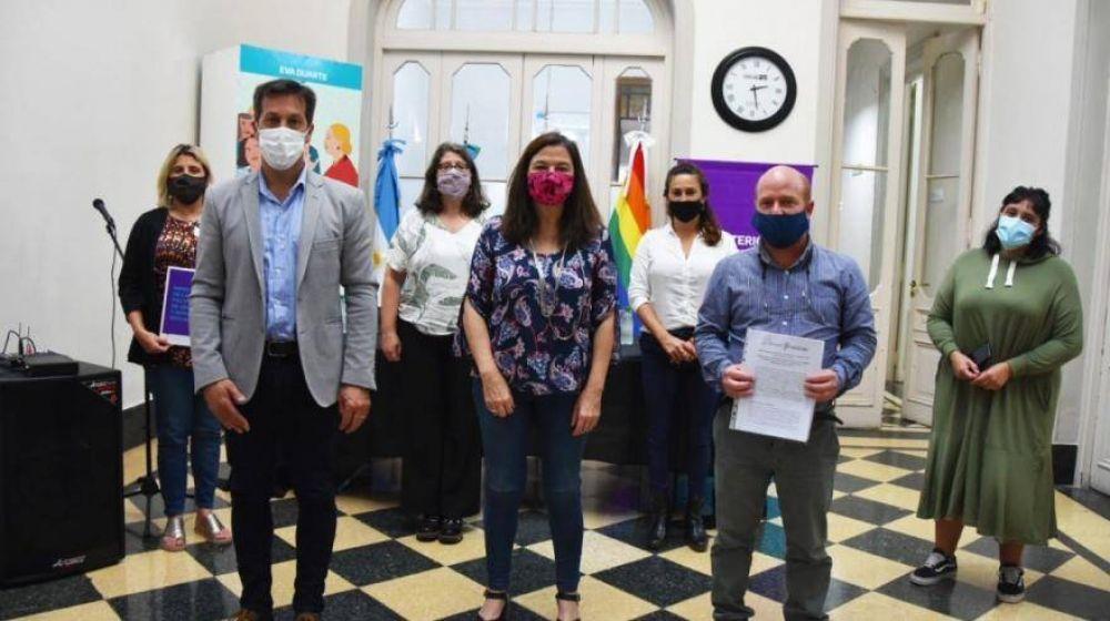 Los municipios de Mar Chiquita y Necochea se sumaron al programa Comunidades sin Violencias