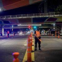 Nuevas restricciones: Frederic supervisó los controles en los accesos a la Ciudad