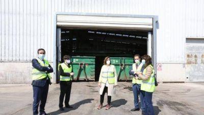 La economía circular llega a la planta de residuos de Palencia