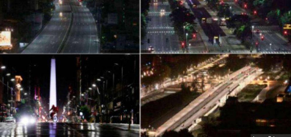 Primer día de restricciones duras en el AMBA para contener la segunda ola: calles vacías y multas a bares