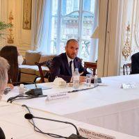 Guzmán en París: cita con empresarios franceses con inversiones en Argentina