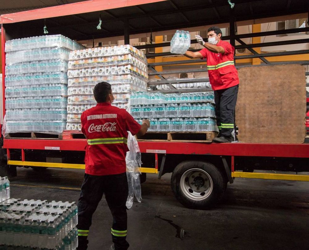 Doce hospitales reciben puestos de hidratación para hacer frente al COVID-19