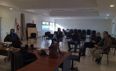 Provincia capacitó a personal de la planta de agua del Parque Industrial de Trelew