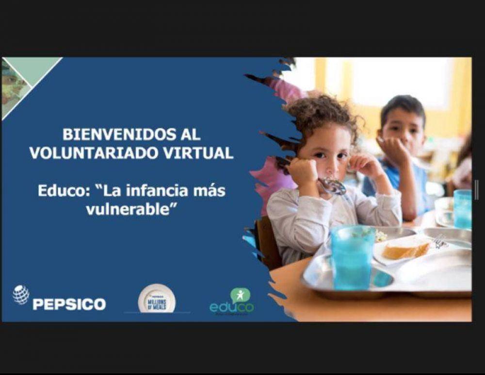 Voluntariado virtual de Pepsico por una alimentación más sostenible