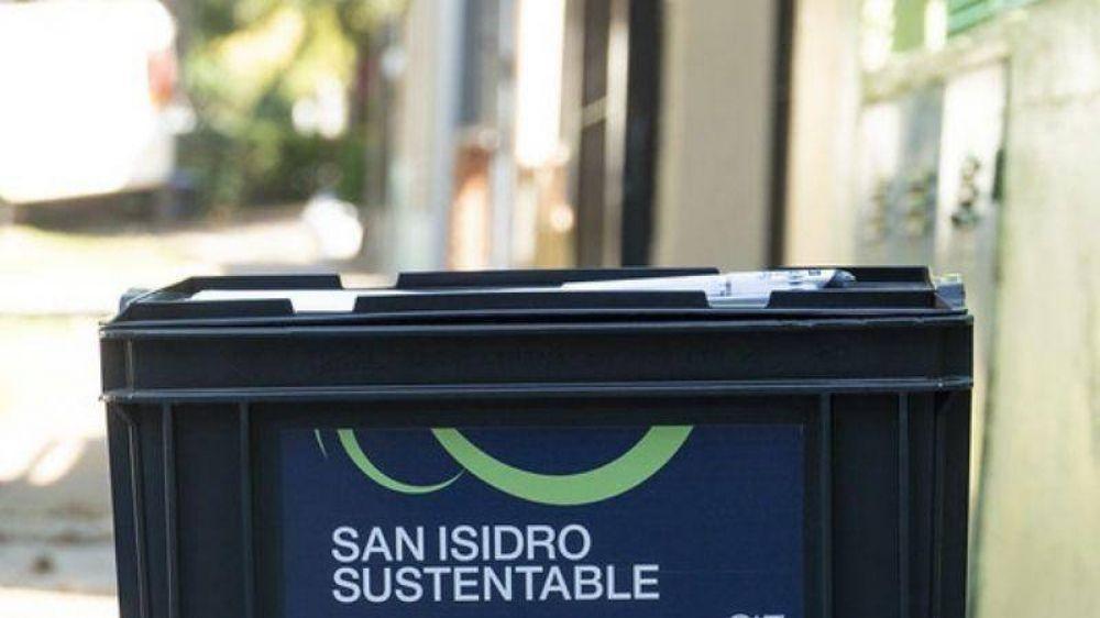 Más de 1.000 vecinos de San Isidro ya recibieron la compostera para residuos orgánicos