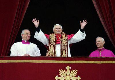 Un día como hoy Benedicto XVI fue elegido Papa