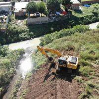 Moreno | Comenzó la obra de saneamiento del arroyo Los Perros