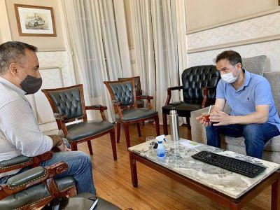 El Intendente se reunió con el secretario general de ASIMRA
