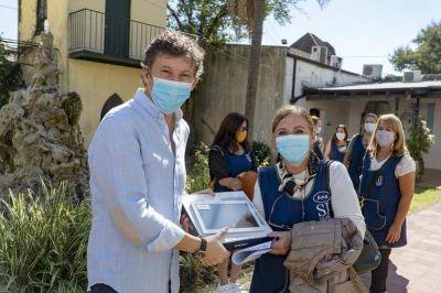 San Isidro: entregan herramientas tecnológicas a los jardines municipales