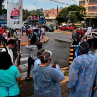 Nueva protesta de trabajadores de la salud en Córdoba