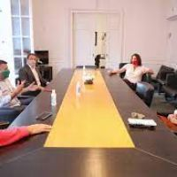 Frederic se reunió con los intendentes de Hurlingham, Florencio Varela y Gral. Rodríguez