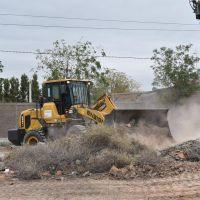 La pala arrasa con la basura en los baldíos sanjuaninos: dónde irá