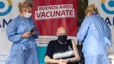 Avanza la vacunación en la Provincia con casi el 80% de los mayores de 70 años inmunizados