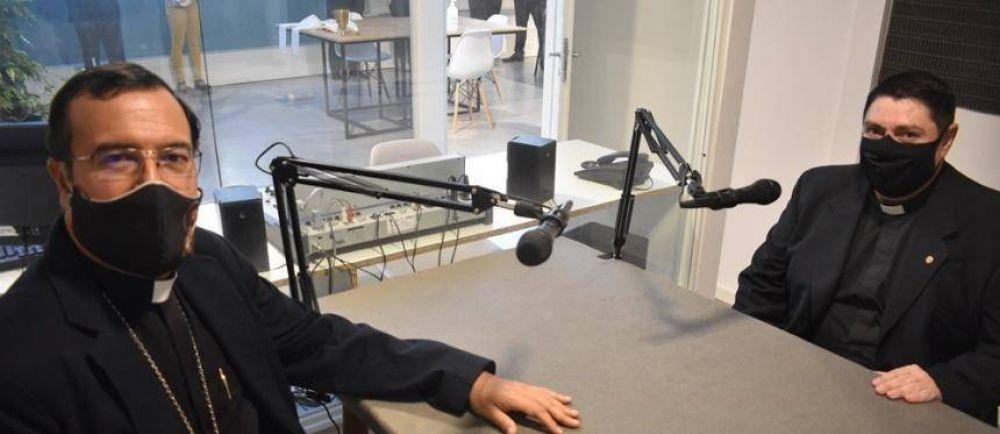 Nuevo estudio de radio en FASTA donde funcionará la FM del Obispado de Mar del Plata