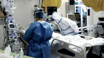 Creció de 49,5% a 65,3% la ocupación de camas de terapia en hospitales públicos porteños