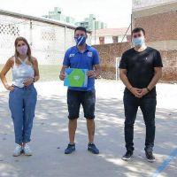Avellaneda continúa con la entrega de subsidios a instituciones barriales