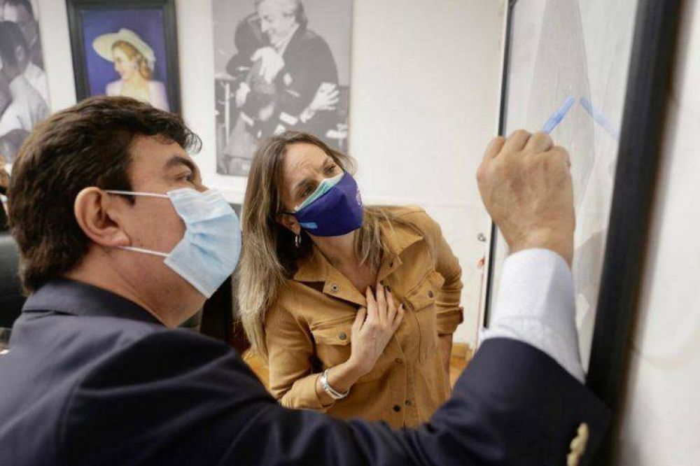 Malena Galmarini y Fernando Espinoza anunciaron la licitación de la nueva Planta Depuradora Laferrere y la ejecución de las obras en La Matanza