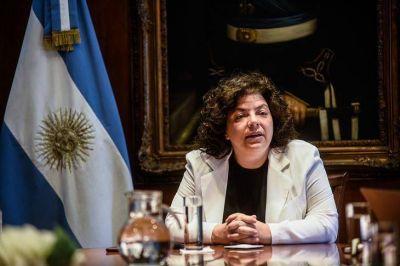 Vizzotti pidió investigar pagos irregulares a proveedores durante el Gobierno de Macri