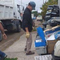 Gaiman: nuevo envío de residuos electrónicos para su reciclaje