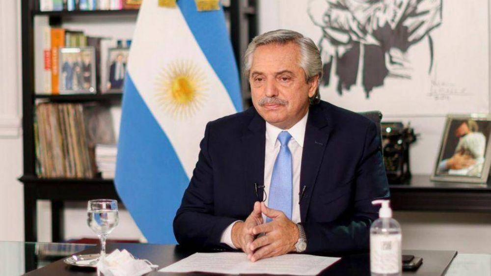 Clases presenciales: Alberto Fernández dice que la Ciudad incurre en el