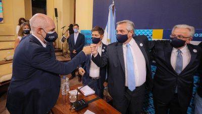 En plena disputa política con Horacio Rodríguez Larreta, Alberto Fernández envió más vacunas a CABA a través del PAMI