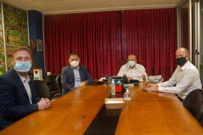 Mussi se reunió con Insaurralde, Otermín y Pereyra en Berazategui