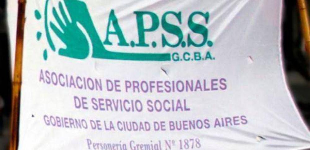 """APSS advirtió que la situación de los trabajadores de salud """"viene empeorando cada vez más"""""""