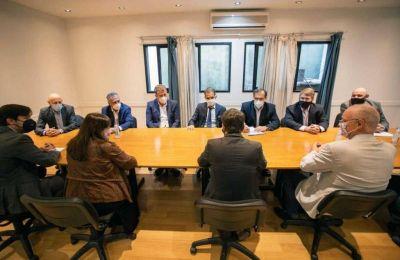 Belocopitt, tras la reunión con Kicillof: