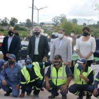 Gobierno y municipio entregaron recursos e insumos a trabajadores municipales